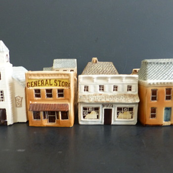 Buildings made in England for Keller Charles of Philadelphia - Pottery