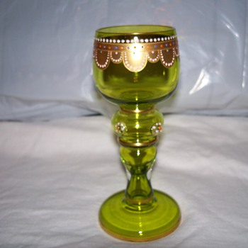 1800 century  moser goblits - Glassware