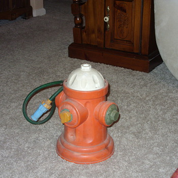 1962 fisher price fire hydrant