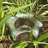 """Kralik """"Gloria"""" style iridescent glass vase"""