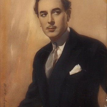 Reginald Gardiner, Actor, Miniature On Celluloid 1931 - Fine Art
