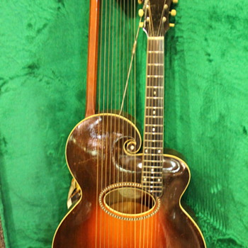 Gibson Harp Guitar, 1920´s - Guitars