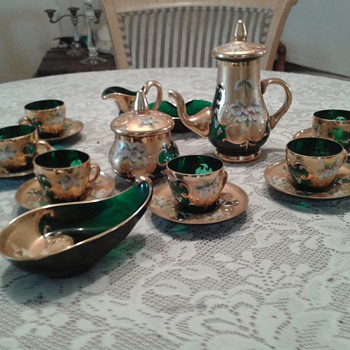 demitasse set - Glassware