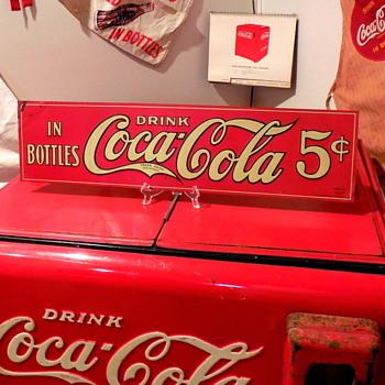 1922 Coca-Cola Sign - Coca-Cola