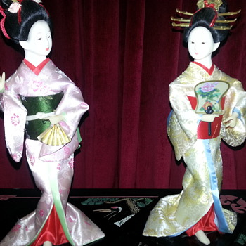 4 GEISHA GIRLS TO ADD TO MY COLLECTION - Asian