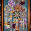 Large and Beautifully-framed Embroidered Applique 'Painting'?