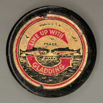 1940's - Gladding Braided Fishing Line