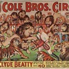 """Clyde Beatty """"40 Man-eating Lions and Royal Bengal Tigers"""""""