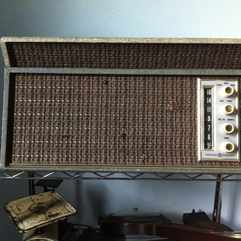 Ge radio stereo record player
