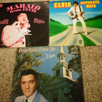 Elvis records - Records