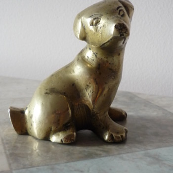 A Little Brass Doggie - Animals
