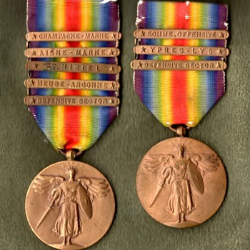 Victory Medals for All Divisions of the AEF, Part 2