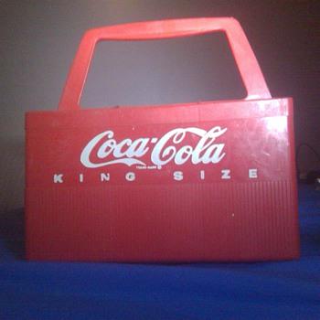 My 2 1960s-1970s Hard Plastic Coca-Cola Bottle Carriers