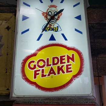 Golden Flake Tater Chips - Clocks