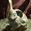 Bronze [?] Bunny - A Nudda Wabbit!