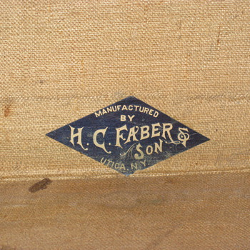 My H. C. Faber & Son trunk II - Furniture
