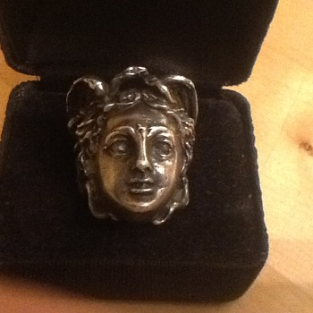Medusa Silver Ring  - Silver