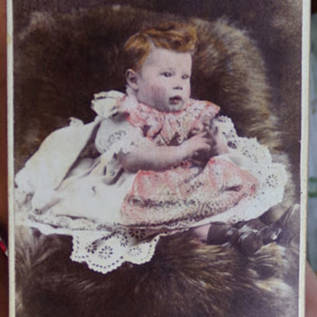 Tinted CDV - Photographs