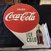 Coca Cola flange sign 1953