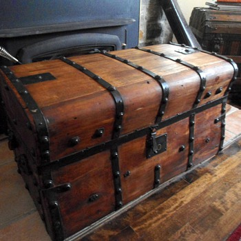 Jenny Lind Trunk -- After - Furniture