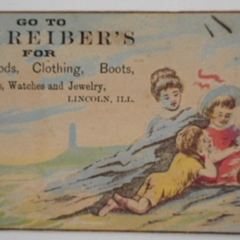 Trade Card / Lottery Ticket - Cards