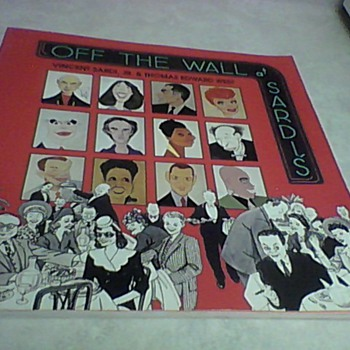 OFF THE WALL AT SARDI'S - Books