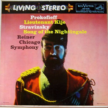 Rca Living Stereo record label 1958 - 1965, exsamples from my collection