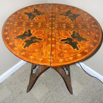 Grandmom's antique table - Furniture