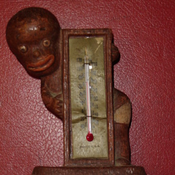 1949 Diaper Dan thermometer - Advertising