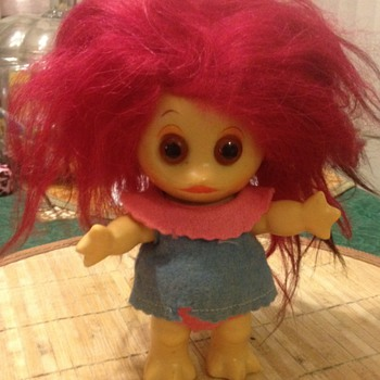"""Rare L.Khem """" Moon Goon"""" Troll Doll all Original - Dolls"""