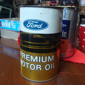 ford cans  - Petroliana
