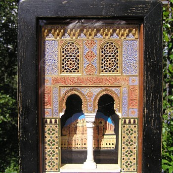 Late 19th Century Model of a Moorish Arch