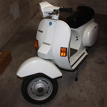 My imported 1983 Vespa 50 Special