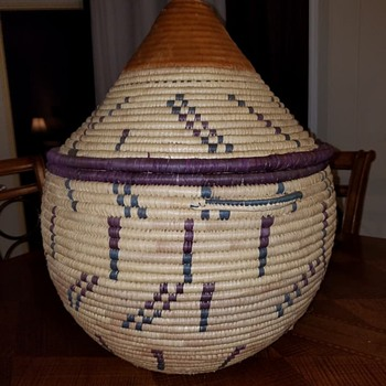 African Storage Basket - Furniture