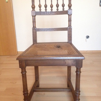 Oak and Reed?  Dining Chair... Another Henri II ?