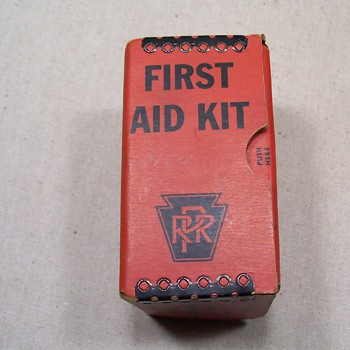 PRR first aid kit - Railroadiana