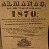 1870 Agricultural Almanac