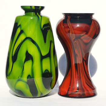 Steinwald or Kralik - Art Glass