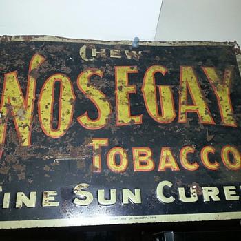 Nosegay Tobacco signs - Tobacciana
