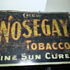 Nosegay Tobacco signs