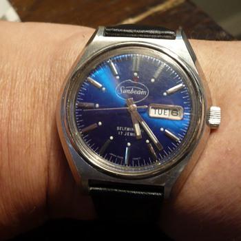 2nd Advertising Wristwatch Sunbeam with Hamazawa movement