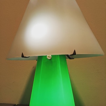 clever lamp design - Art Glass