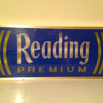Reading Premium Beer Light