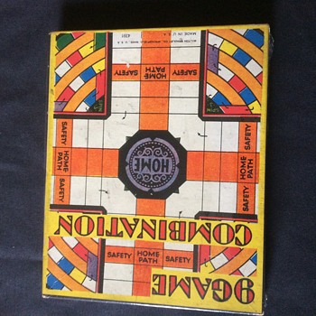 9 GAME COMBINATION  RARE BOARD GAME MILTON BRADLEY CO. SPRINGFIELD MASS