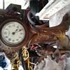 My recent find, a New Haven cherub clock