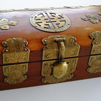Korean jewelry box - Asian