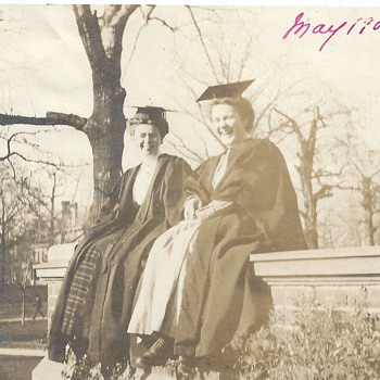 "Grand ma at The College"" Graduation Year ""1909 - Photographs"