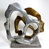 Maggie Milone metal art sculpture