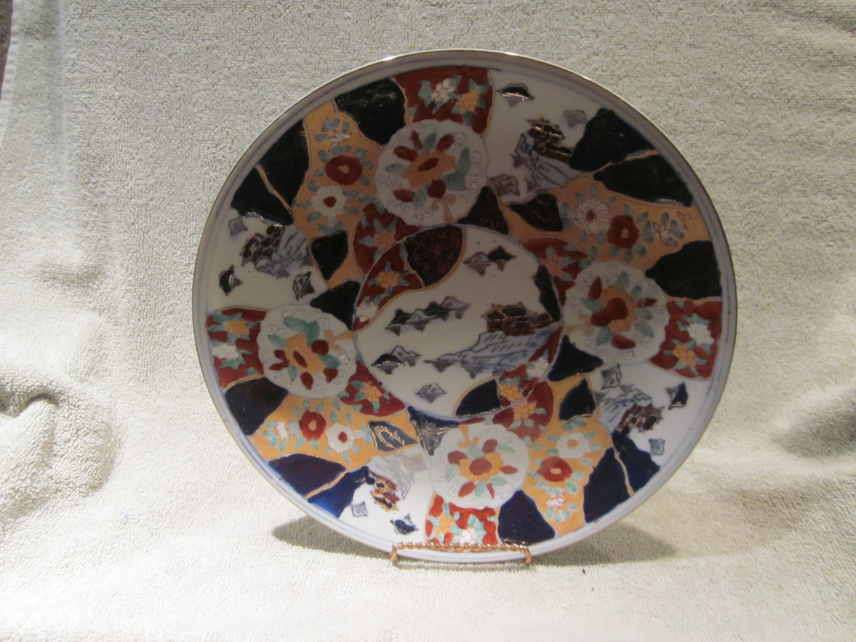 & Hand Painted Antique Plate | Collectors Weekly