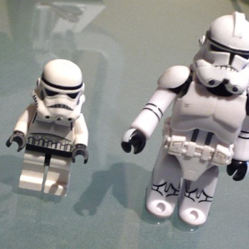 Star wars Storm Trooper Mini Figure 2008 - Not so Mini - Toys